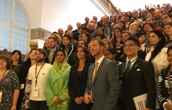 Minister for Food Processing Industries Smt. Harsimrat Kaur Badal visited Denmark from 24th to 25th August to attend the World Food Summit - Better Food for more people in Copenhagen. Minister Badal invited Denmark to be Partner at World Food India 2017 to be held between 3rd - 5th November in New Delhi. Minister Badal urged for strong cooperation and partnership between India and Denmark in the agriculture and food processing sectors. Some pictures during the visit.