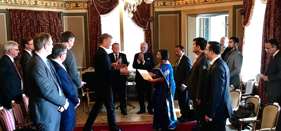 Exchange of documents between India and Denmark in the area of Animal Husbandry, Dairying, Agricultural Research, Food Safety and Urban Development at India-Nordic Summit in Stockholm on 17 April 2018