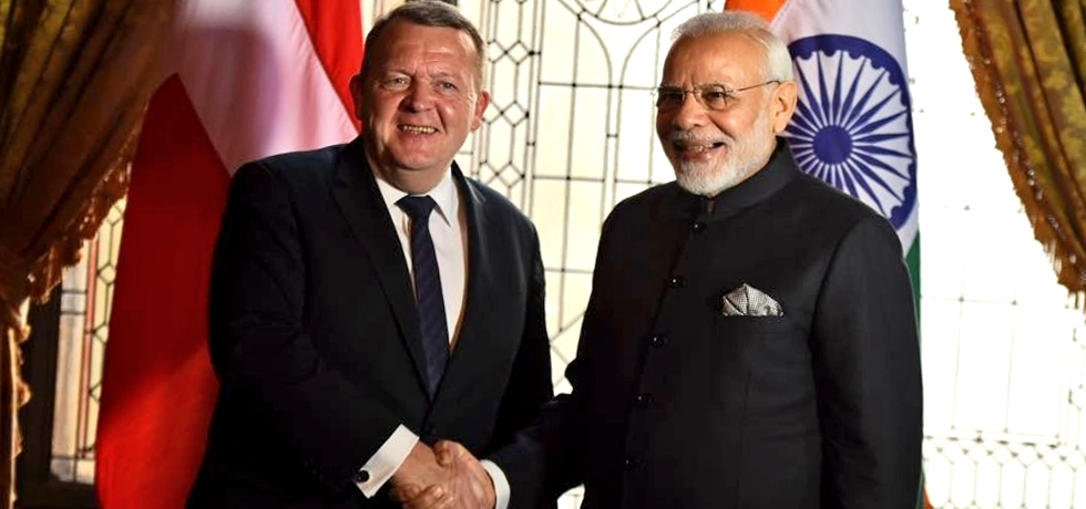Prime Minister Narendra Modi had a productive meeting with Prime Minister of Denmark Lars Lokke Rasmussen during the India-Nordic Summit  in Stockholm on 17 April 2018. Both agreed to intensify economic cooperation