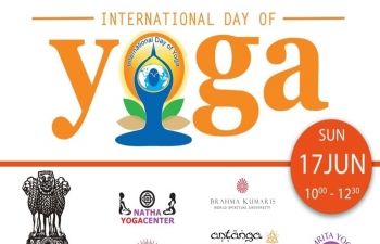 The 4th International Day of Yoga is being celebrated by Embassy of India, Copenhagen on 17 June from 10:00 to 12:30 PM at Kings Garden, Oster Voldgade 4A, 1350 Copenhagen.