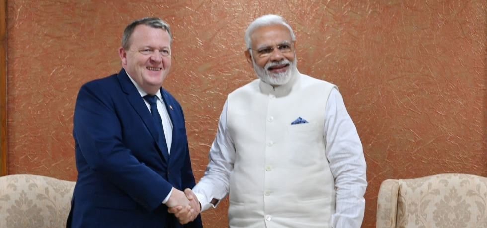 PM Narendra Modi had a constructive bilateral meeting with the Danish PM Lars Løkke Rasmussen on 18th January 2019 at Vibrant Gujarat Summit. During the meeting, agreements on Shipping and Smart Cities were exchanged, further strengthening Indo-Danish bilateral relations
