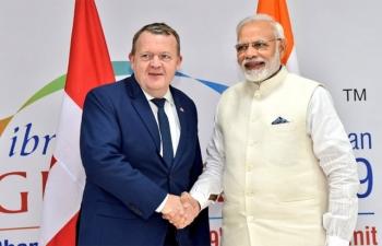 Visit Of Danish PM to India
