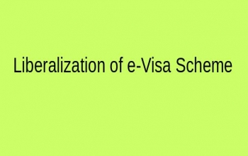 Liberalization of e-Visa Scheme