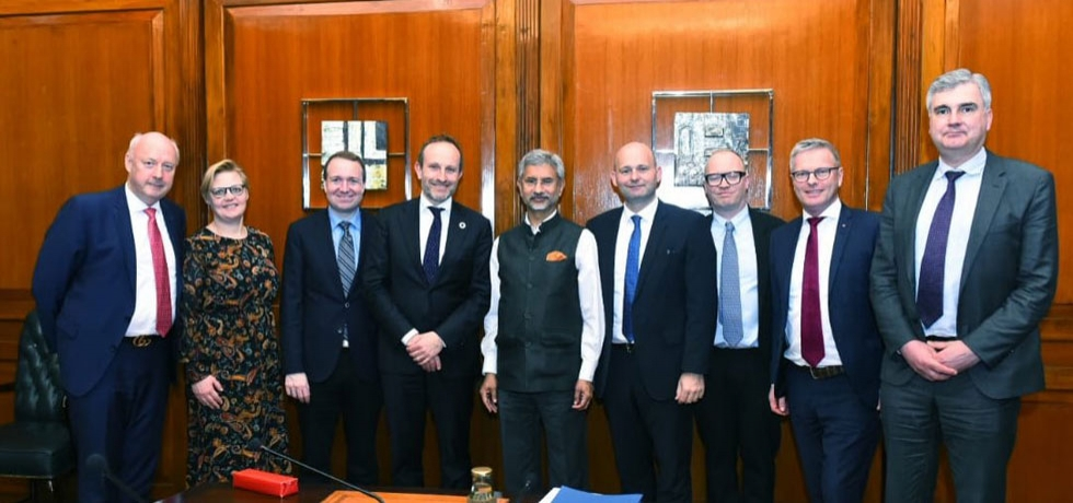 Danish Parliamentary Foreign Policy Committee delegation led by Mr Martin Lidegaard visited India and met EAM Dr S Jaishankar on 3 March 2020