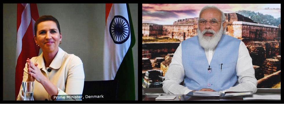 Prime Minister Narendra Modi and Danish Prime Minister Mette Frederiksen held Virtual Bilateral Summit on 28th September 2020