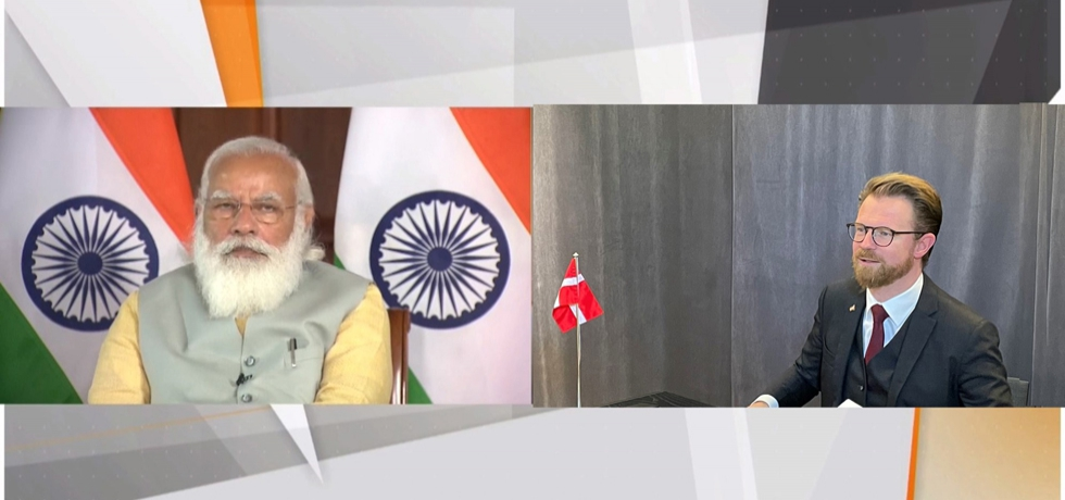 H.E Mr. Benny Engelbrecht, Minister for Transport, Denmark  spoke at inaugural session of Maritime India Summit 2021 with Prime Minister of India, Shri Narendra Modi on 2nd March 2021