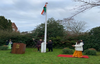 Celebration of 72nd Republic Day at Embassy of India, Copenhagen