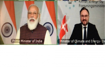 Mr Dan Jørgensen, Danish Minister for Climate, Energy and Utilities spoke at inaugural session of RE-Invest 2020 with Prime Minister of India, Shri Narendra Modi on 26th Nov 2020