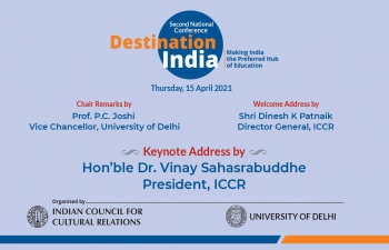 """Destination India - Making India the preferred Hub of Education"""