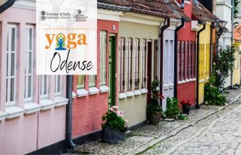 Celebration of International Day of Yoga 2021 in Odense