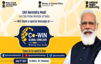 Co-Win Global Conclave on 5th July 2021