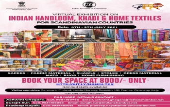 Virtual Exhibition on Indian Handloom, Home Textiles & Khadi for Scandinavian Countries