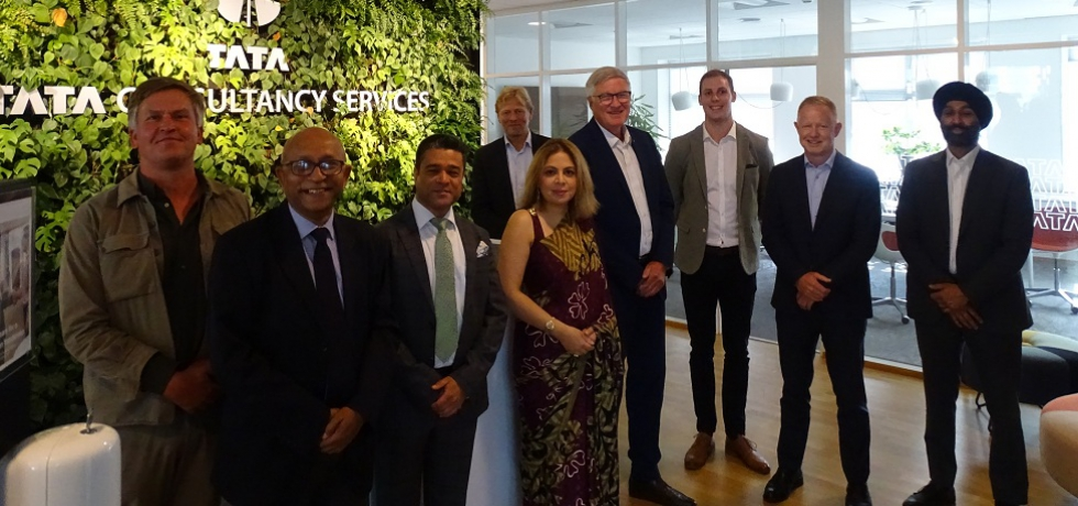 Ambassador Pooja Kapur addressed the Indian Danish Chamber of Commerce on Atma Nirbhar Bharat and the achievements and opportunities presented by India@75